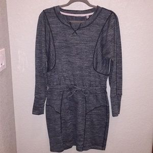 Athleta Gray Sweat Shirt Dress